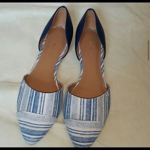 Tommy Hilfiger D'Orsay flats NEW without tags 7.5